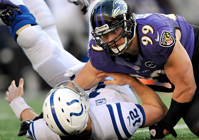 Paul Kruger stepped up as a major pass rush threat for the Super Bowl champion Ravens.