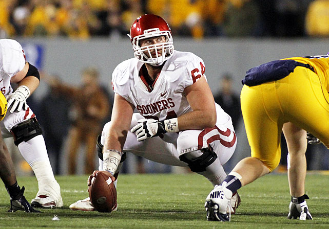 Oklahoma offensive line coach James Patton is off to Indiana, and left tackle Lane Johnson is gone to the NFL. That puts the Sooners' offensive line leadership responsibility on Ikard, a two-time first-team All-Big 12 center. Ikard's task will be to maintain the performance of an OU offensive line that allowed just 15 sacks last season, tied for 17th fewest in the nation.