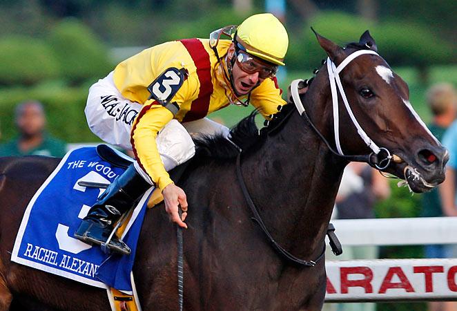 Calvin Borel, pictured in 2009 riding the horse Rachel Alexandra, got his 5,000th win Thursday.