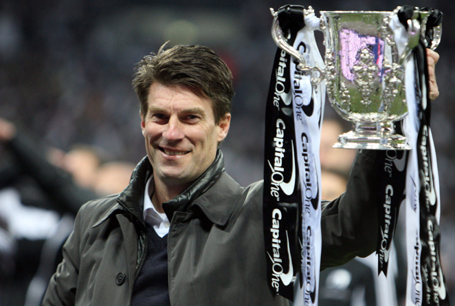 Michael Laudrup, who led Swansea to its first major trophy last month, has signed on until 2015.