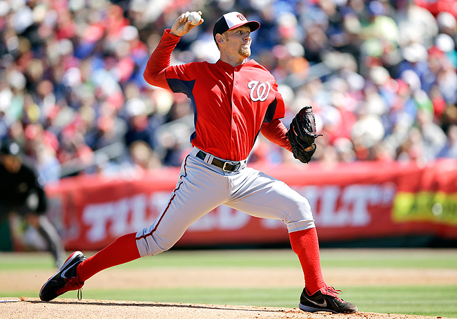Stephen Strasburg should break out this year after the Nationals shut him down prematurely in 2012.