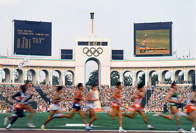 Los Angeles is seeking to host the summer Olympics again, having previously done so in 1984