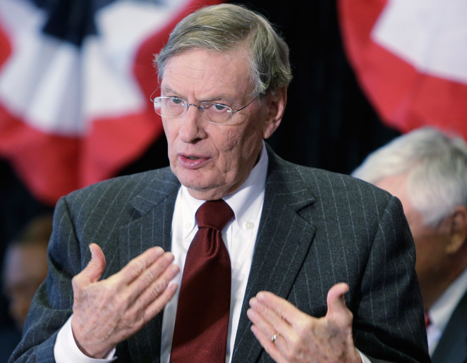 Bud Selig would like to see baseball expand across the world, as well as a Japan-U.S. World Series.