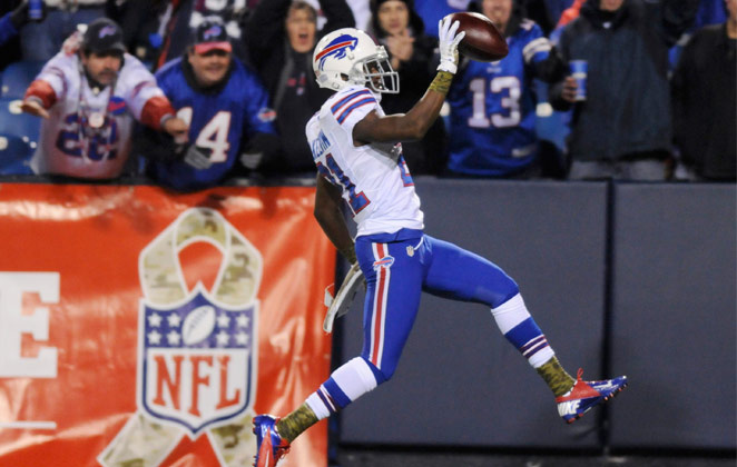Leodis McKelvin has four career return touchdowns since being drafted by the Bills in 2008.