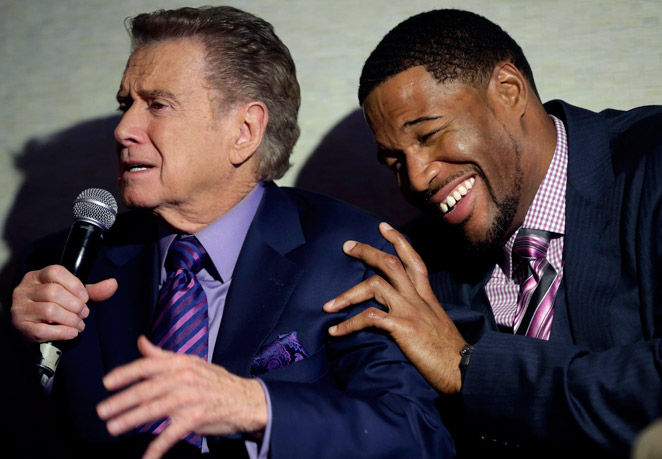 Regis Philbin will be a big part of the programming for Fox's new cable sports network, Fox Sports 1.