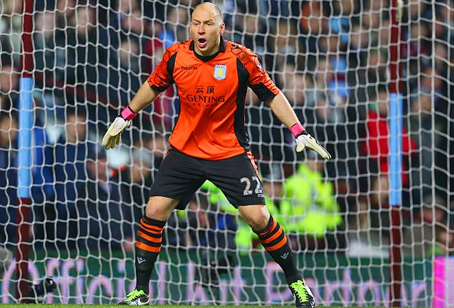 Brad Guzan was a backup along with Marcus Hahnemann to Tim Howard at the 2010 World Cup.