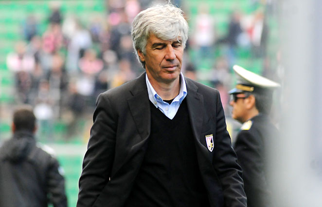 Gian Piero Gasperini has coached Genoa, Palermo and Inter Milan.