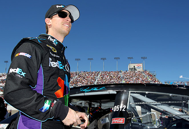 Denny Hamlin's stand against NASCAR and paying a fine for speaking out has rallied fans to his cause.
