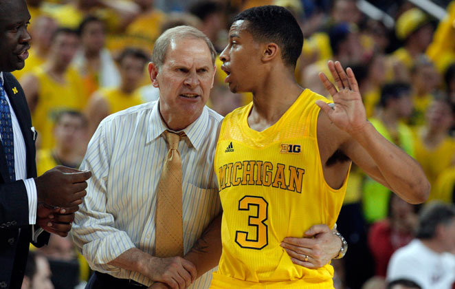 Point guard Trey Burke averaged 19.2 points and 6.8 assists per game in leading the Michigan Wolverines this season.