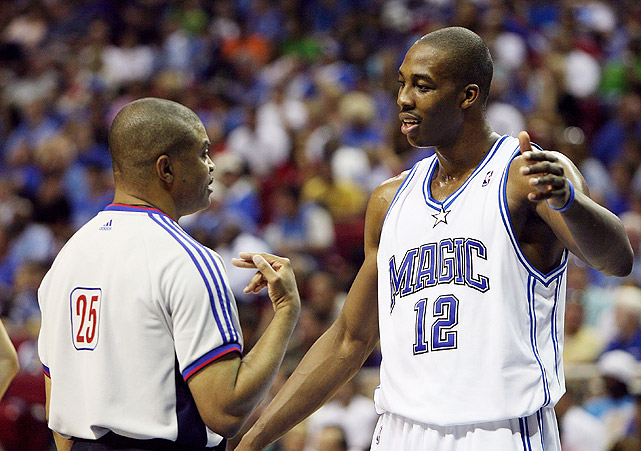 Howard helped the Magic qualify for the playoffs at the conclusion of the 2007 season, marking the team's first postseason appearance since 2003. But the No. 8 Magic couldn't overcome the first-seeded Pistons, falling in four games despite averages of 15.3 points, 14.8 rebounds and 54.8 percent shooting from Howard.