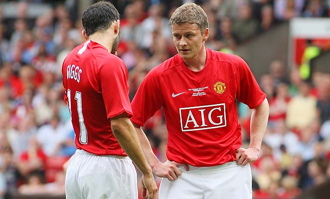 Ryan Giggs and Ole Gunnar Solskjaer were Manchester United teammates from 1996 to 2007.