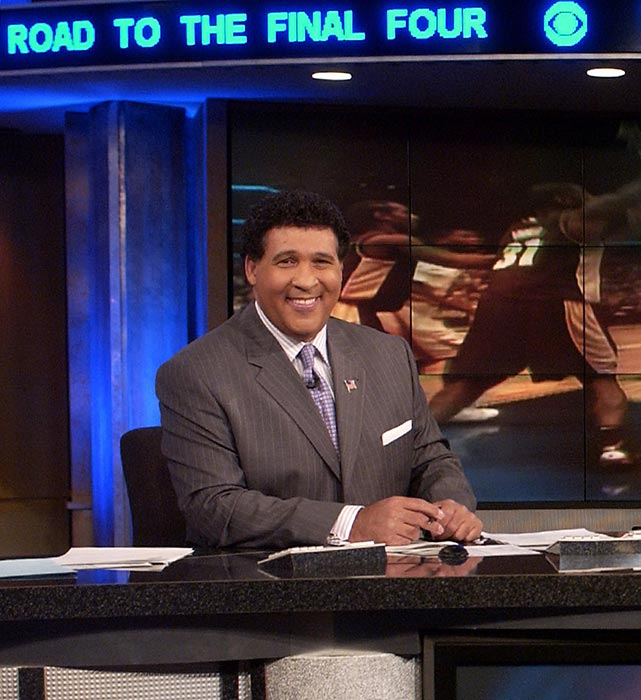 Gumbel has served as a studio host for CBS's coverage of college basketball since 1998. He'll do the same for this tournament along with Turner's Ernie Johnson and Matt Winer. He's a graduate of Loras College in Dubuque, Iowa.