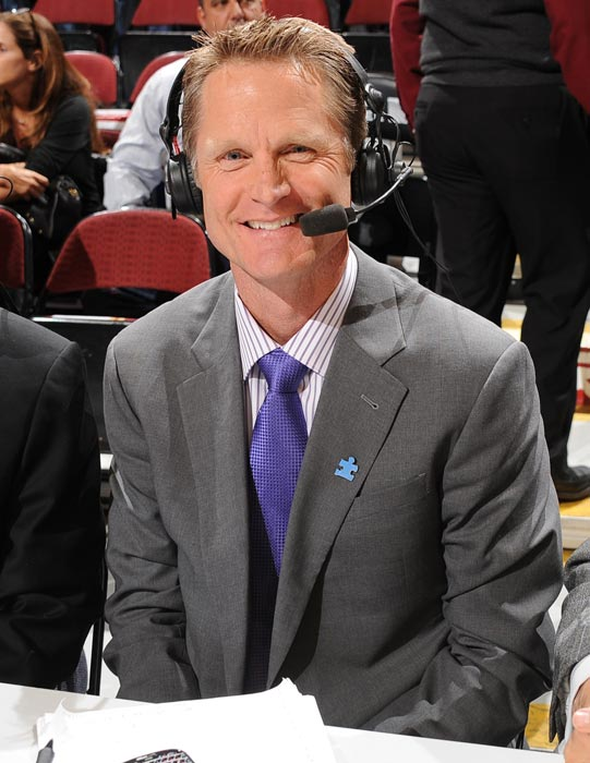 The five-time NBA title winner will serve as a game analyst for the Final Four and championship game alongside Jim Nantz and Clark Kellogg. Kerr will work the earlier rounds with longtime Turner Sports partner Marv Albert. As a collegian, Kerr played at Arizona from 1983-1988, making it to the Final Four in 1988.