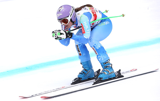 Tina Maze has potential to sweep all five World Cup discipline titles this season.
