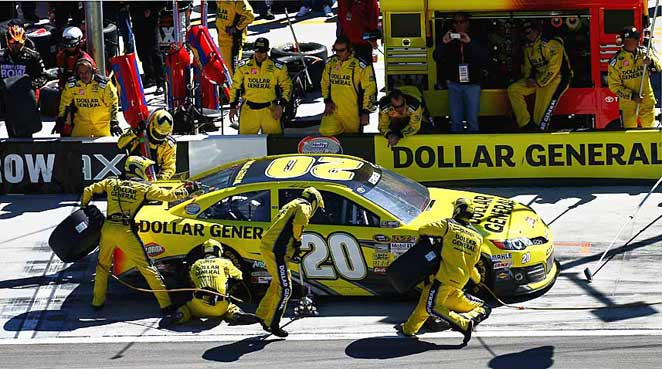The strong performance by Matt Kenseth and his team at Las Vegas is a reliable sign of things to come.