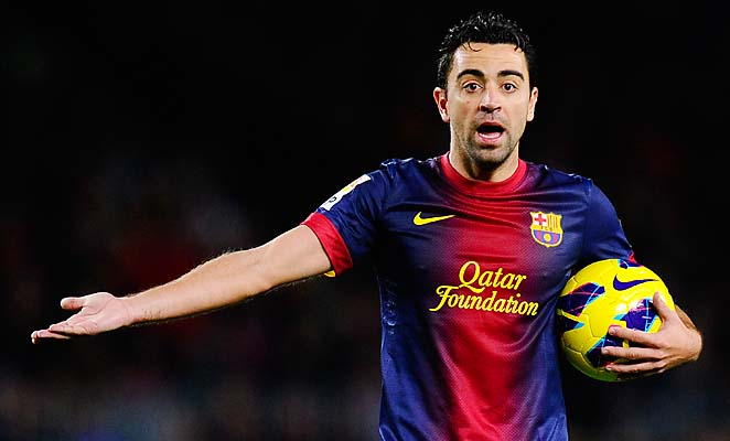 Xavi and Barcelona will learn their Champions League quarterfinal opponent Friday.