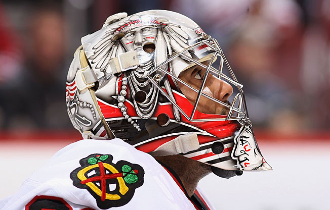 After rehabbing a diseased leg and controversial image, Ray Emery has been a record-setting success.