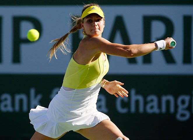 Maria Kirilenko pulled out a win over fifth-seeded Petra Kvitova to advance at Indian Wells.