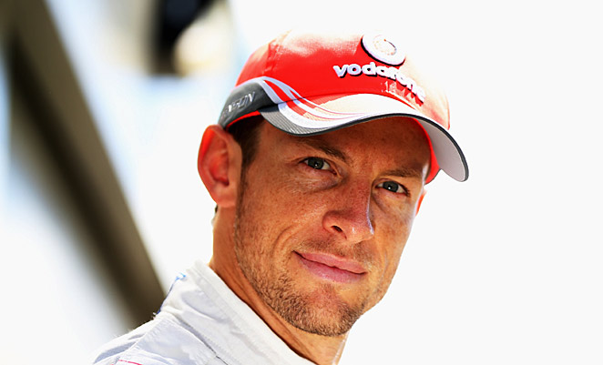 No complaints here: Jenson Button disputes the claim that McLaren crimps its drivers' freedom.