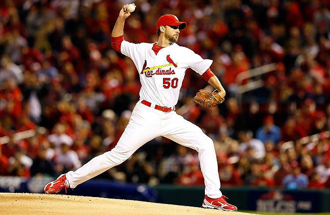 Adam Wainwright only posted a 3.94 ERA in 2012, but he's capable of carrying fantasy teams this year.