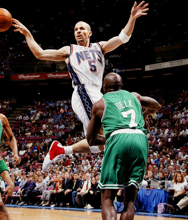 With 12,038 assists in his still active career, Kidd sits second on that list. He led the league in assists five times, including a career-best 10.8 per game in the lockout shortened 1998-99 season. Capable of far more than passing, Kidd has also averaged 12.7 points and 6.3 rebounds per game in his career and made five All-Defensive first teams. The 10-time All-Star spent his prime with the Phoenix Suns and the New Jersey Nets but now plays for the New York Knicks.