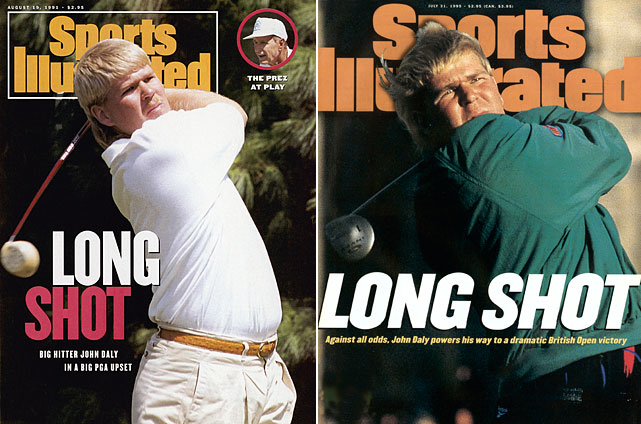 Despite his notable vices, which he has never attempted to hide, Daly has won five PGA Tour events, including two majors. With his grip-it-and-rip-it game, Daly broke through with a victory in the 1991 PGA Championship despite being the last alternate in the field. He won Tour Rookie of the Year that season. Daly claimed his second major in 1995, winning the British Open at St. Andrews. His last PGA Tour win came in the Buick Invitational in 2004.