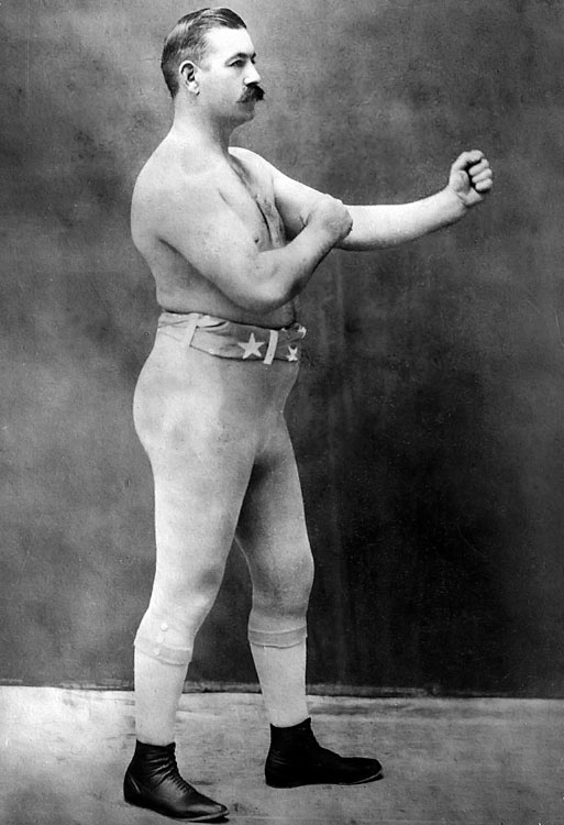Sullivan was the first heavyweight champion of gloved boxing before losing the title to James Corbett in September 1892, his first and only career loss. The Boston Strong Boy won the belt as heavyweight champion in August 1887, defeating Dominick McCaffrey by knockout in the sixth round. Sullivan was also the last heavyweight champion of bare-knuckle boxing and the first American athlete to earn $1 million in career prize money.