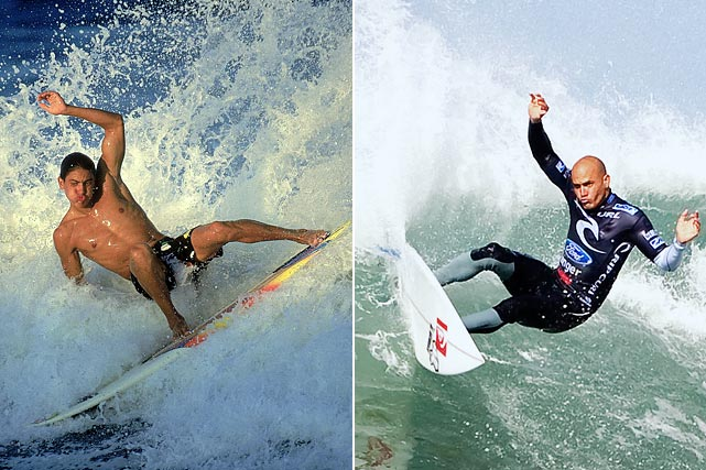 The greatest surfer of all time has been crowned the ASP World Champion a record 11 times, winning five straight titles from 1994 to 1998. Slater has won 56 events in his career, including 52 on the World Championship Tour. He holds the record as both the youngest and the oldest world champion, earning his first title at age 20 and his most recent at 39.