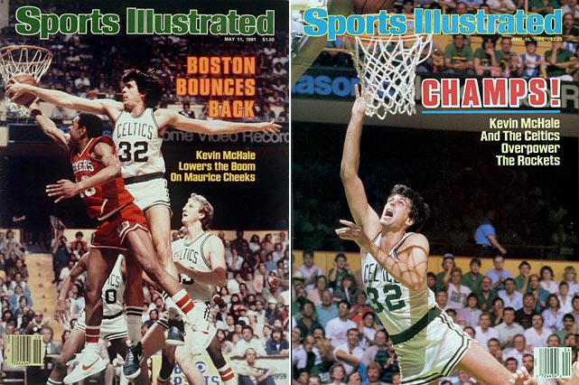 The No. 3 overall pick in the 1980 NBA Draft lived up to his billing, making seven All-Star games in his 13-year Hall of Fame career. McHale averaged 17.9 points per game in his career and paired with Larry Bird to lead the Boston Celtics to three NBA titles. His standout defense, which Charles Barkley said gave him nightmares, earned McHale three first-team All-Defensive selections. The Celtics retired his No. 32 jersey.