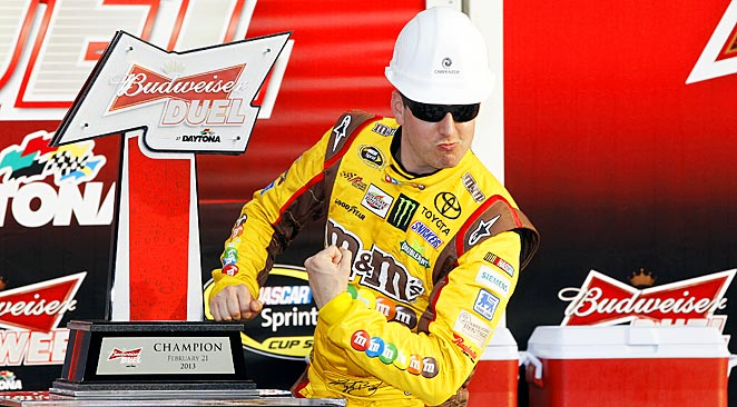 Kyle Busch has won four of the last eight races at Bristol, site of this week's race.