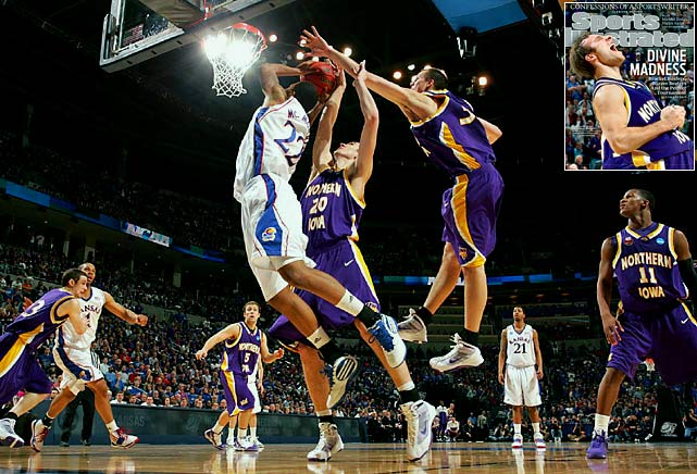 The top-seeded Jayhawks were a favorite to challenge for the title in Detroit, but their trip ended early. Wasteful against Northern Iowa in the second round, the Panthers took advantage of Kansas' weakness to eek out a 69-67 victory and punch their ticket to the Sweet Sixteen.