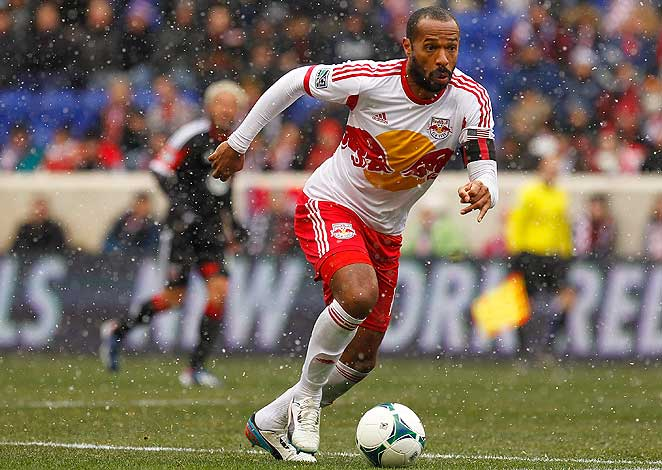 Thierry Henry and the Red Bulls were held scoreless in snowy conditions against D.C. United.