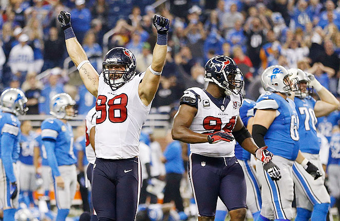 Connor Barwin had a disappointing 2012 season, but showed his potential in 2011 with 11.5 sacks.