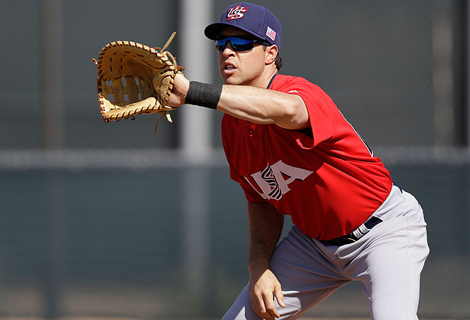 Mark Teixeira injured his wrist while playing for the United States team at the World Baseball Classic.