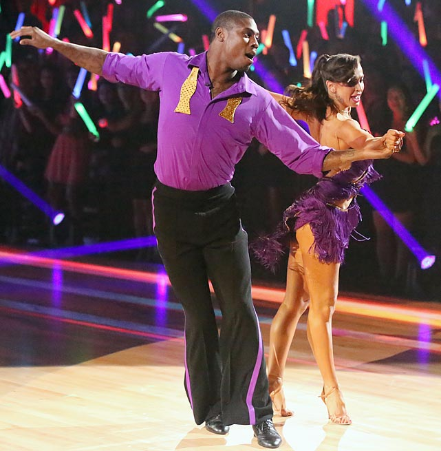 The NFL wide receiver and return specialist finished in 3rd place with dancing partner Karina Smirnoff.