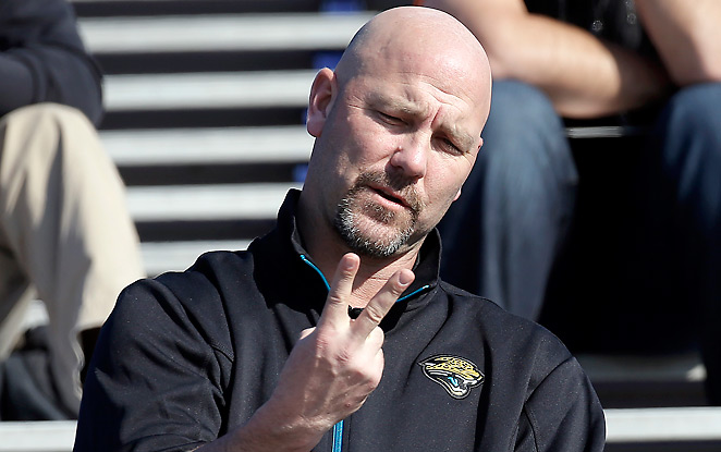 Gus Bradley inherits a Jaguars team that has won an average of five games over the last five seasons.