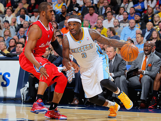The Nuggets started 17-15 while playing an early schedule that saw them play 22 of their first 32 games on the road. As the calendar turned to 2013, however, Ty Lawson and Co. caught fire and built momentum toward a streak that owed more to Denver's collective talents than to any one star.