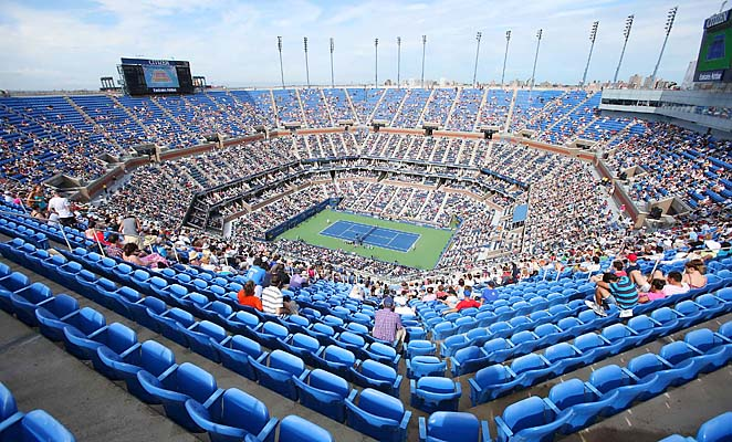 The U.S. Open will permanently hold men's semis Friday and final on Sunday as of 2015, the AP says.