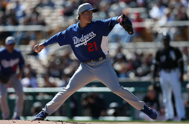 A tender right elbow has limited Zack Greinke to just five innings so far this Spring Training.