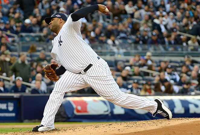 CC Sabathia pitched his sixth straight 200-inning season in 2012, and shows no signs of slowing.