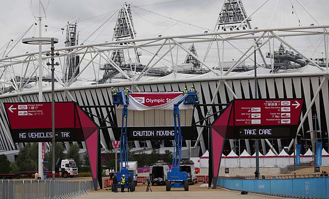 The Olympic Stadium hasn't had a tenant since the Paralympics ended in September.