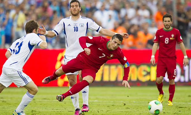 Cristiano Ronaldo and Portugal are in third place in their World Cup qualifying group.