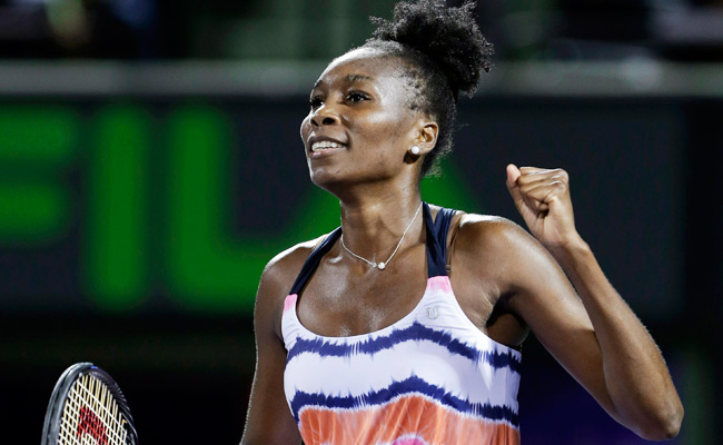 Venus Williams defeated Kimiko Date-Krumm on Thursday but withdrew before her match Saturday.