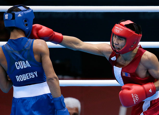 Headgear will not be utilized in the ring by boxers at the 2016 Olympics in Rio de Janiero.