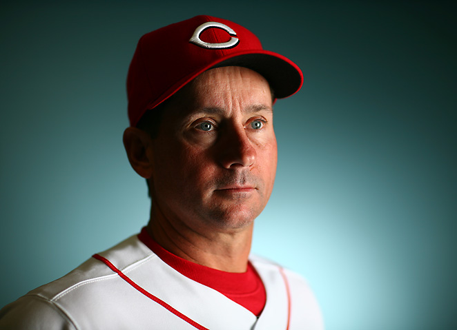 Mark Berry has been a member of the Reds' organization since 1984 and has coached third since 2003.
