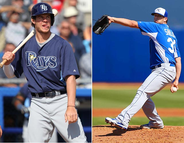 The Royals and Rays meet in early May, but there's a better chance of Wil Myers being in the Rays' lineup by the time this series rolls around. And we'll have a better idea of whether or not the Royals are getting what they need out of the single year of James Shields they acquired (if Shields pitches every fifth game to this point in the season, he'll start this one for Kansas City).