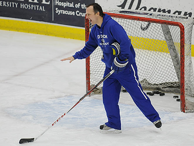 The new coach of the Tampa Bay Lightning, Jon Cooper has a gift for winning at any level of hockey.
