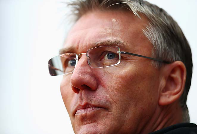 Nigel Adkins will make his Reading debut against Arsenal on Saturday.