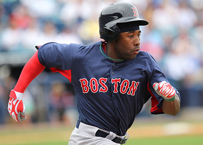 Jackie Bradley Jr. could be one of the new faces of the future in Boston.