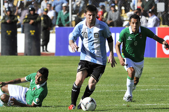 Lionel Messi and Argentina remain atop the South American group, with 24 points after 11 matches.